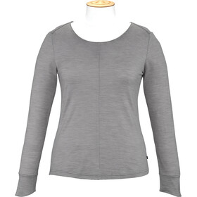 Alchemy Equipment Merino Essential Maglia a maniche lunghe Donna, grey marle